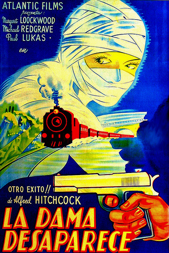 Argentine poster for The Lady Vanishes (1938) (2)