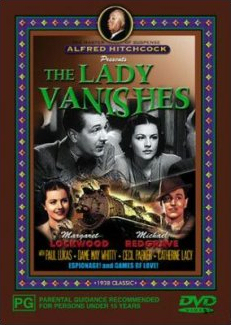 Australian DVD cover of The Lady Vanishes (1938) (1)