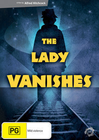 Australian DVD cover of The Lady Vanishes (1938) (2)