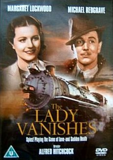 DVD cover of The Lady Vanishes (1938) (1)