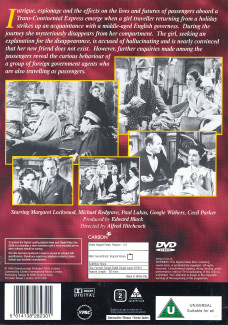 DVD cover of The Lady Vanishes (1938) (12)