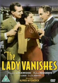 DVD cover of The Lady Vanishes (1938) (2)