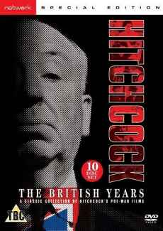 Alfred Hitchcock in a DVD cover of The Lady Vanishes (1938) (3)