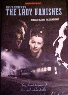 DVD cover of The Lady Vanishes (1938) (5)