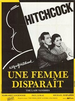 French poster for The Lady Vanishes (1938) (3)