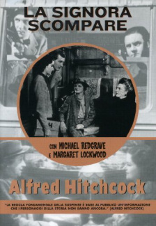 Italian DVD cover of The Lady Vanishes (1938) (1)