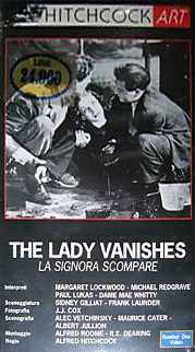 Italian video cover from The Lady Vanishes (1938) (2)