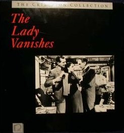 Laser disc of The Lady Vanishes (1938) (2)