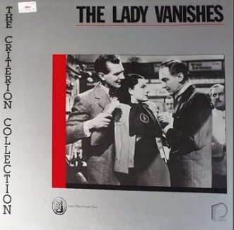 Laser disc of The Lady Vanishes (1938) (3)