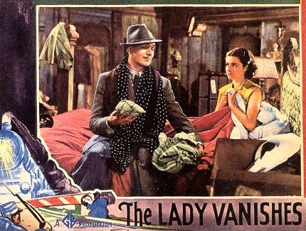 Lobby card from The Lady Vanishes (1938) (3)