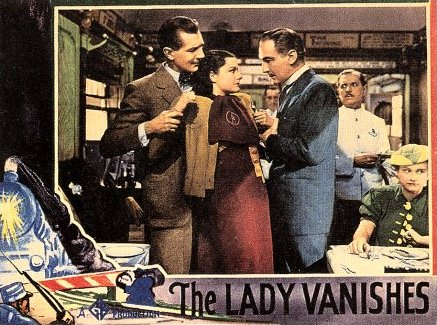 Lobby card from The Lady Vanishes (1938) (5)