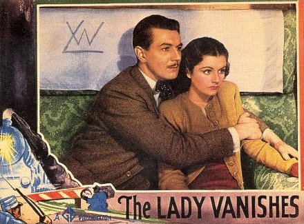 Lobby card from The Lady Vanishes (1938) (6)