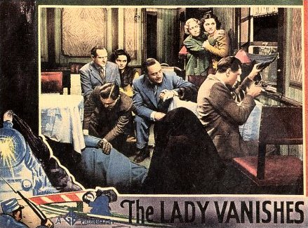 Lobby card from The Lady Vanishes (1938) (8)