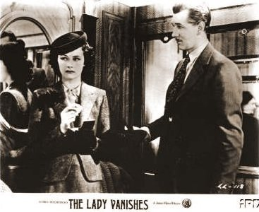 Lobby card from The Lady Vanishes (1938) (9)