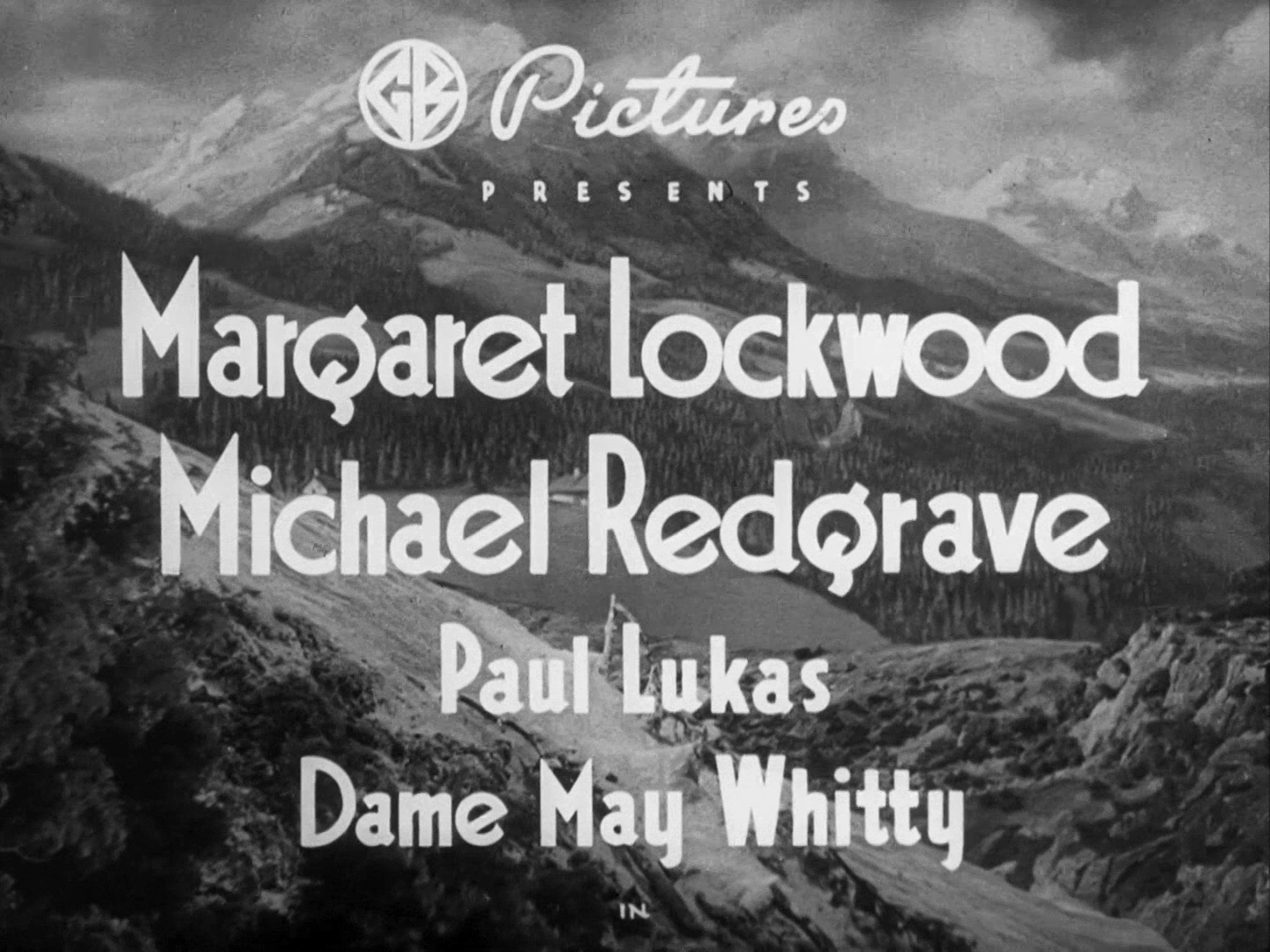 Main title from The Lady Vanishes (1938) (1)