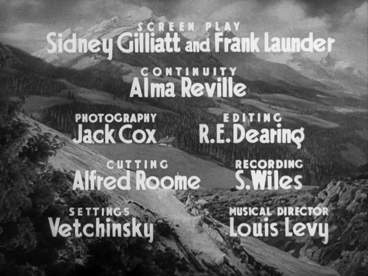 Main title from The Lady Vanishes (1938) (4)