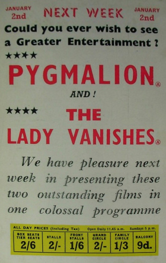 Poster for The Lady Vanishes (1938) (15)