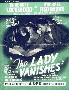 Poster for The Lady Vanishes (1938) (2)