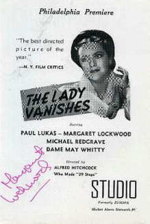 Poster for The Lady Vanishes (1938) (9)
