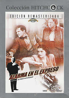 Spanish DVD cover of The Lady Vanishes (1938) (1)