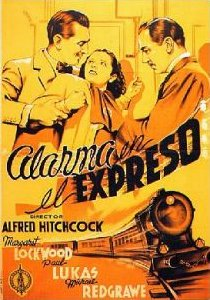 Spanish poster for The Lady Vanishes (1938) (1)