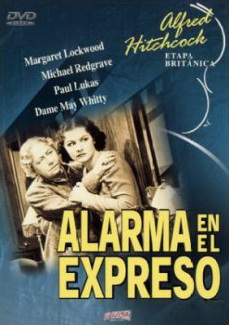 Spanish poster for The Lady Vanishes (1938) (2)