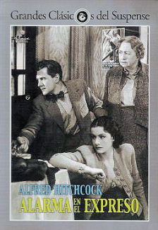 Spanish video cover from The Lady Vanishes (1938) (1)