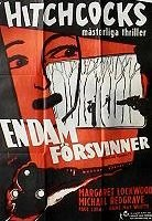 Swedish poster for The Lady Vanishes (1938) (2)