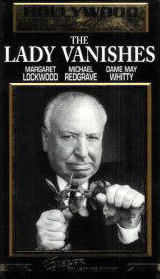 Alfred Hitchcock in a video cover from The Lady Vanishes (1938) (5)
