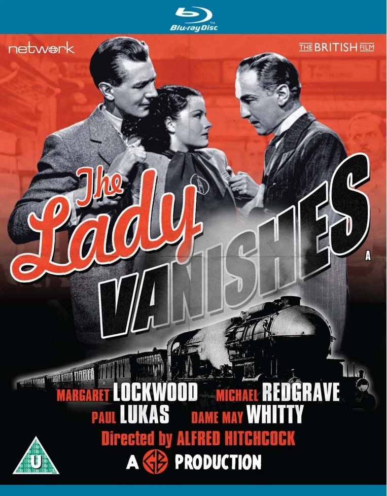 The Lady Vanishes Blu-ray from Network and The British Film.  Features Michael Redgrave, Margaret Lockwood and Paul Lukas.