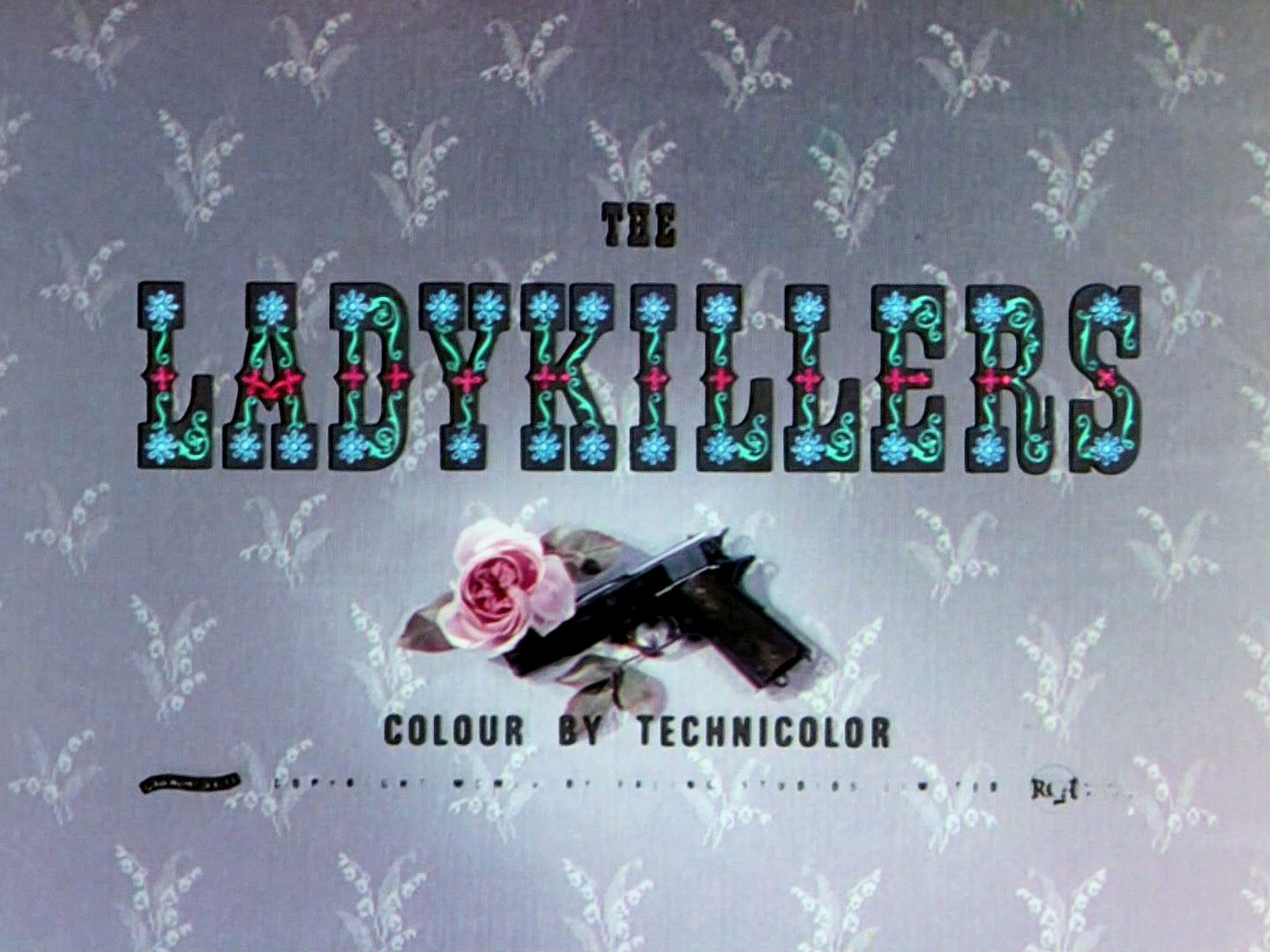 Main title from The Ladykillers (1955) (5).  Colour by Technicolor