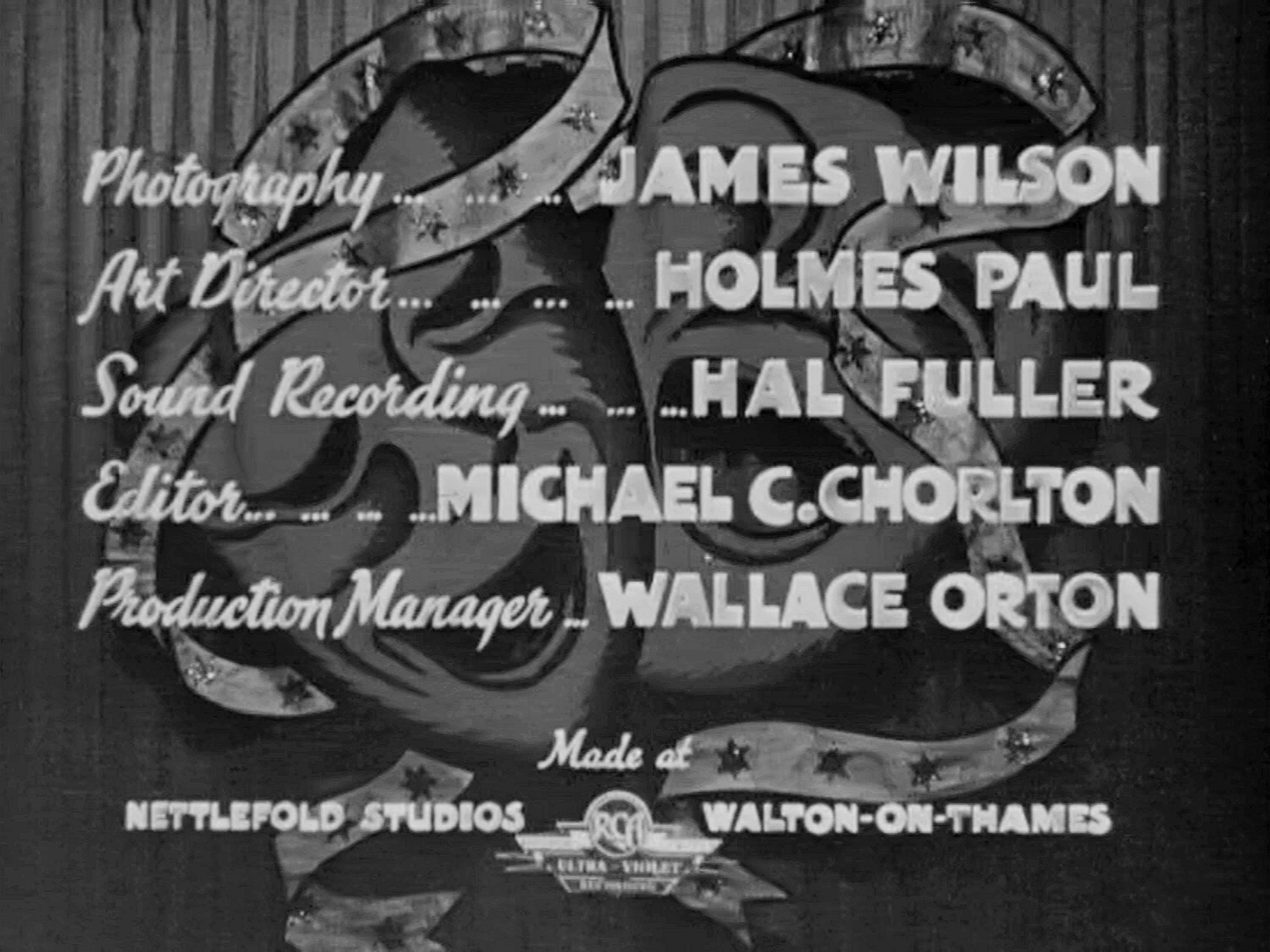 Main title from Laugh It Off (1940) (4)