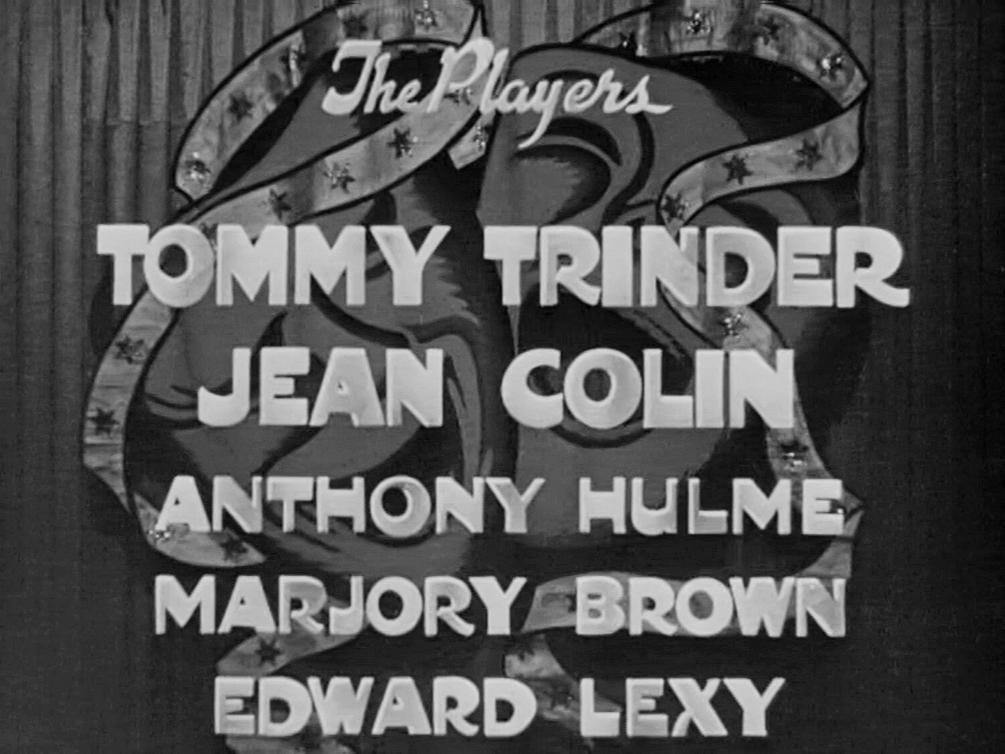 Main title from Laugh It Off (1940) (6). Tommy Trinder, Jean Colin, Anthony Hulme, Marjorie Browne, Edward Lexy