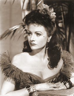 Margaret Lockwood (as Laughing Anne) in a photograph from Laughing Anne (1953) (15)