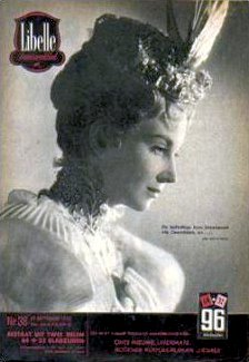Libelle magazine with Joan Greenwood.  19th September, 1952, issue number 38.  (Belgian)