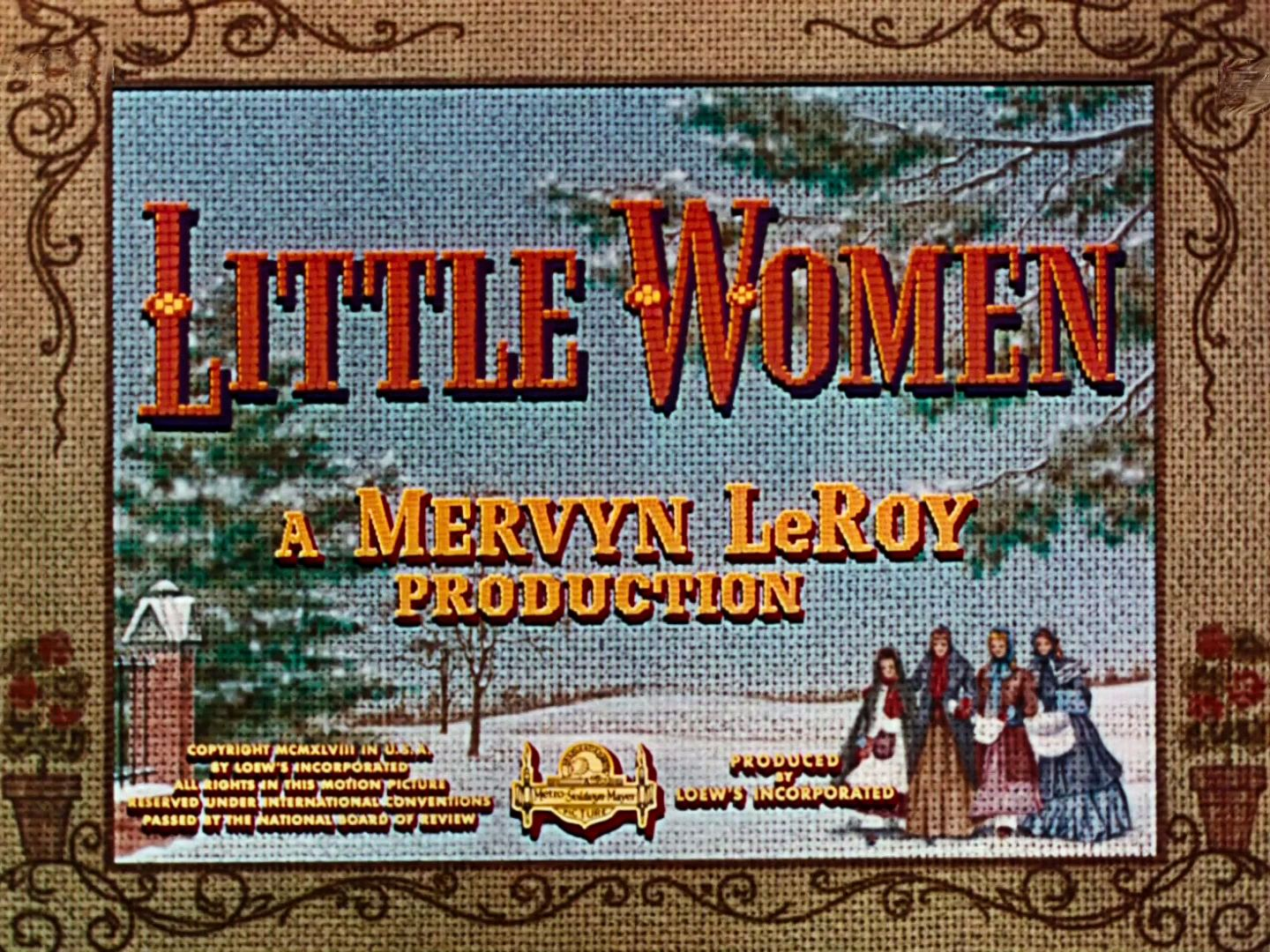 Main title from Little Women (1949) (3)