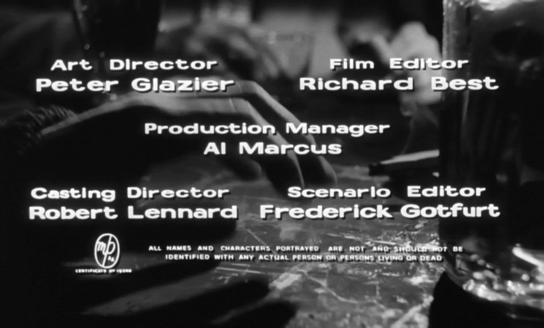 Main title from Look Back in Anger (1959) (10)