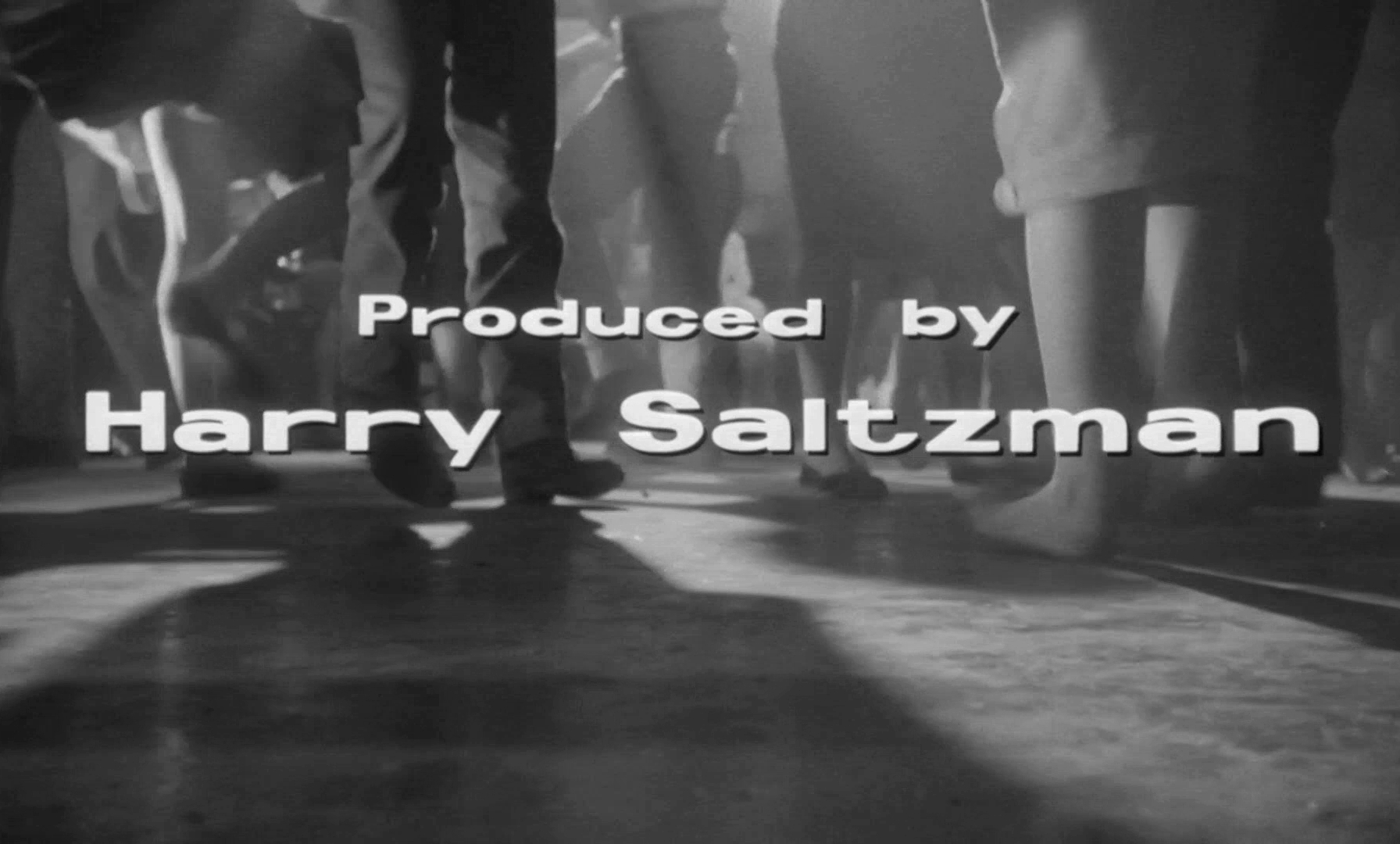 Main title from Look Back in Anger (1959) (11). Produced by Harry Saltzman
