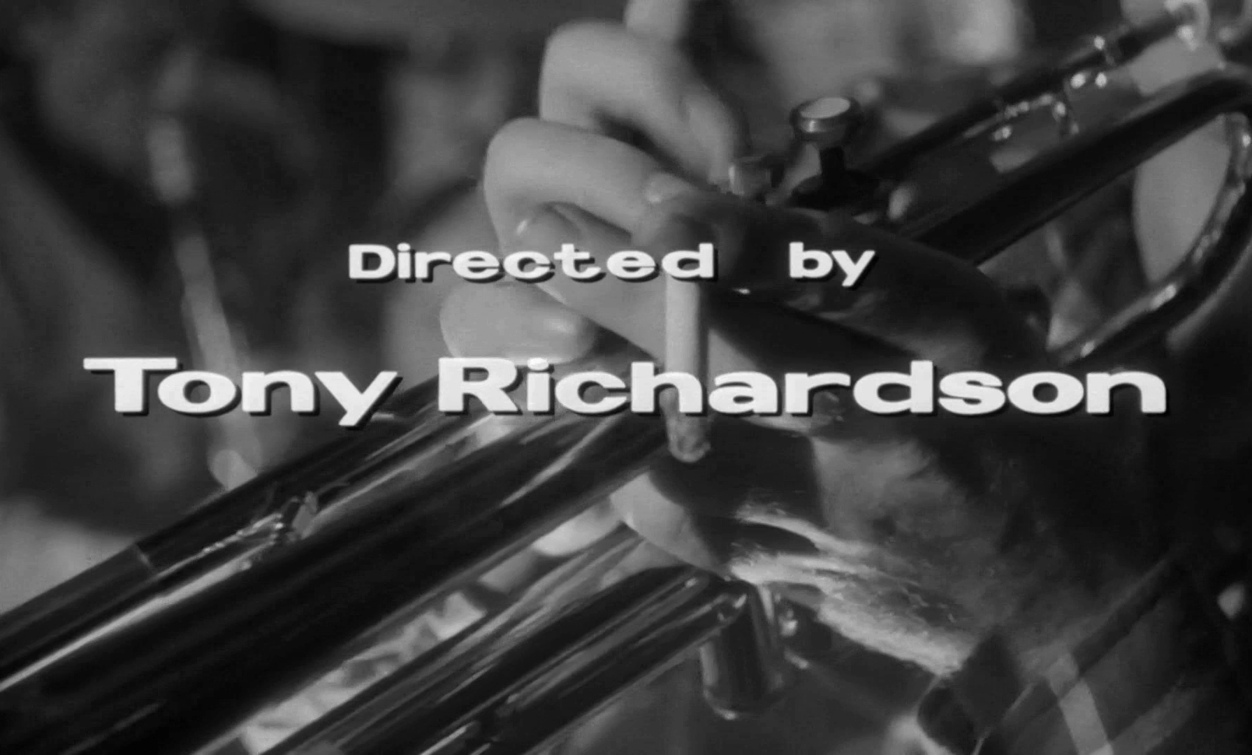 Main title from Look Back in Anger (1959) (12). Directed by Tony Richardson