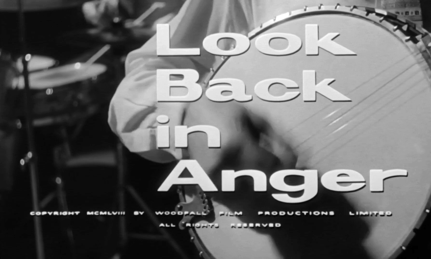 Main title from Look Back in Anger (1959) (4)