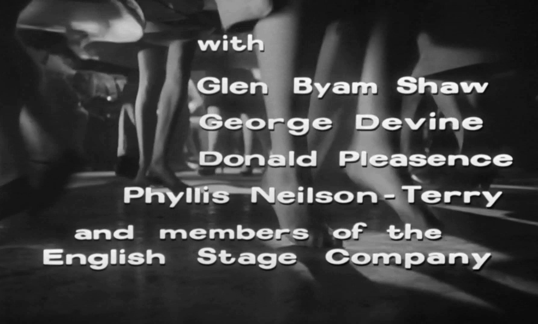 Main title from Look Back in Anger (1959) (6)