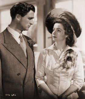 Norman Wooland (as Ashley Morehouse) and Margaret Lockwood (as Ann Markham) in a photograph from Look Before You Love (1948) (13)