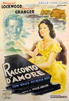 Italian poster for Love Story (1944) (1)