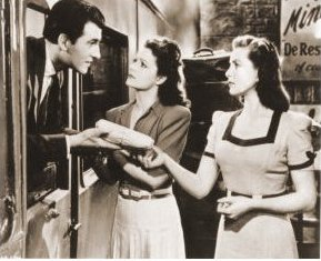 Stewart Granger (as Kit Firth), Margaret Lockwood (as Lissa Campbell) and Patricia Roc (as Judy) in a photograph from Love Story (1944) (2)