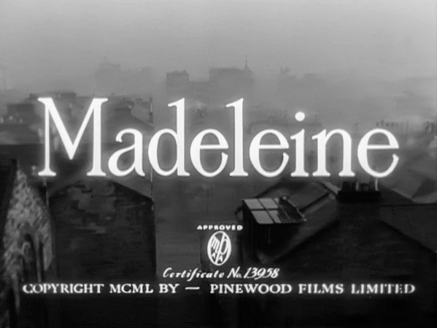 Main title from Madeleine (1950) (4)