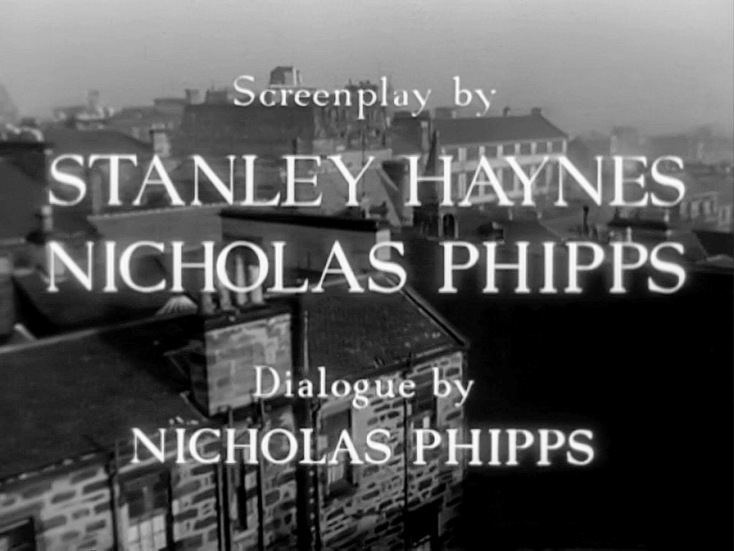 Main title from Madeleine (1950) (6). Screenplay by Stanley Haynes, Nicholas Phipps. Dialogue by Nicholas Phipps