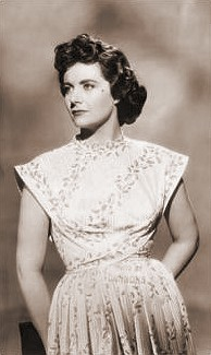 Margaret Lockwood (as Lydia Garth) in a photograph from Madness of the Heart (1949) (1)