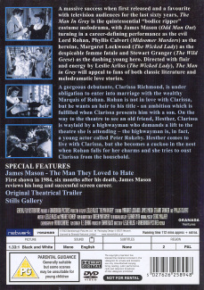 DVD cover of The Man in Grey (1943) (1)