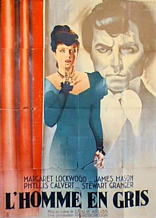 French poster for The Man in Grey (1943) (1)