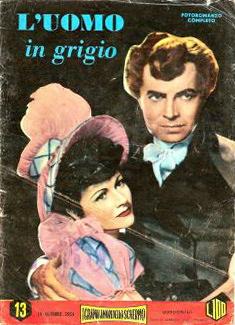 Italian book of The Man in Grey (1943) (1)